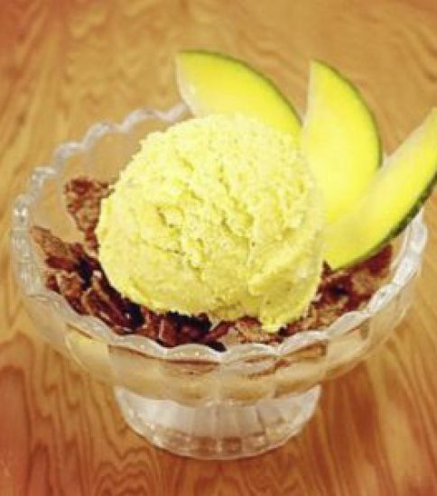 鈴かぼちゃのアイスクリーム